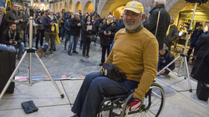 Jordi Puig tanca a Salses un viatge de 1300 quilòmetres en cadira de rodes