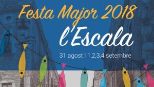 Preparatius per la Festa Major de l'Escala 2018