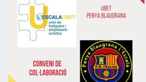 Conveni entre la UBET i la Penya Blaugrana