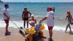 Precaució per prevenir ofegaments i riscos a les platges