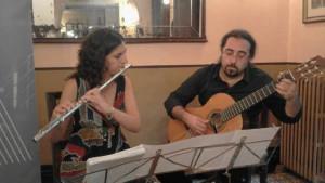 Flauta i piano al festival de Guitarra Girona Costa Brava