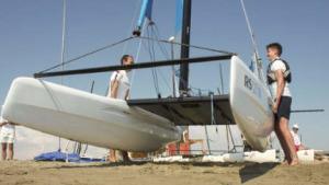 La Copa d'Europa de Catamarans a Sant Pere Pescador