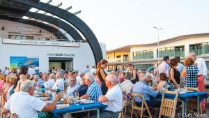 Més de 250 persones a la Diada del Soci del Club Nàutic L'Escala
