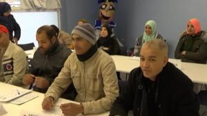Acaba el  curs de primera acollida per a immigrants que es fa a l'Escala