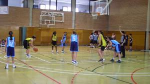 El Cadet femení del Club Bàsquet l'Escala és l'únic que podria guanyar la lliga