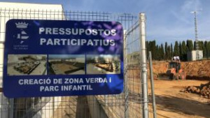 Comença la construcció d'una àrea de jocs entre l'Esculapi i Ballmanetes