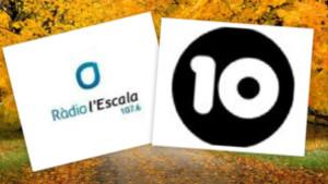 Nova programació de Canal 10 i Ràdio l'Escala