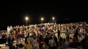 Molta afluència de músics i públic a la 14ena Nit dels músics de cobla