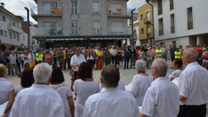 Acte institucional de la Diada Nacional de Catalunya a l'Escala