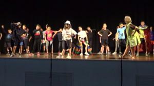Final de curs dels tallers de teatre de l'Escola Empúries