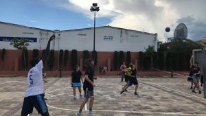 3x3 de bàsquet a Plaça Catalunya