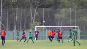 El FC l'Escala perd els primers punts de la temporada, malgrat el gol de falta directe de Pol Compte (1-1). La nota negativa, la fisura a la costella de Sergi Ramirez.