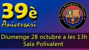 39è aniversari de la Penya Blaugrana