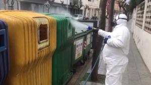 Campanya de neteja extrema als contenidors d'escombraries