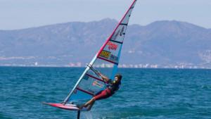 El wind foil s'incorpora al mundial de windsurf