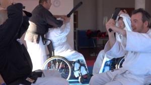 Primera trobada estatal d'arts marcials adaptades
