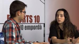 La jugadora de pàdel Maria Subirà se centra en els estudis