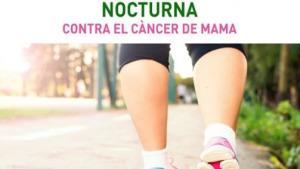 Caminada noctura solidària amb el cancer de mama