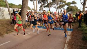 1700 participants a la Marató d'Empúries