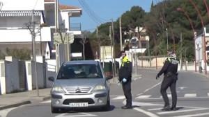 Més controls policials amb l'arribada de la Setmana Santa