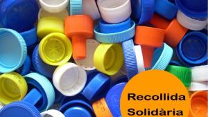 3800 euros solidaris fruit dels taps de plàstic