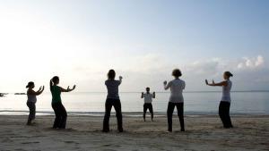 Sessió de Tai Chi organitzada per les Badies més Belles del Món