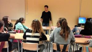 Jornada socioeducativa Institut alumnes 4rt d'ESO