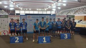 El juvenil del CER l'Escala, subcampió d'Espanya per equips