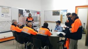 Assemblea de l'Associació de Voluntaris de Protecció Civil