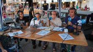 Retransmissió en directe de les havaneres per ràdio i televisió