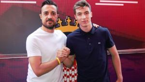 Valery Fernández es converteix en jugador del primer equip del Girona FC