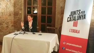 Robert Bosch, escollit candidat de Junts per Catalunya a l'alcaldia de l'Escala