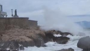 Temporal de vent i pluja de primera magnitud