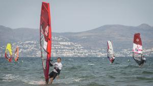El Campionat d'Europa de Windsurf desembarca al càmping Las Dunas
