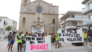 Els veïns del Riuet es manifesten a l'Ajuntament