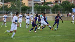 Segon partit de pretemporada del FC l'Escala