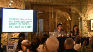 Portalblau 19 : Conferència Martí Albesa i Sara Montesinos, concert Claudia cabero