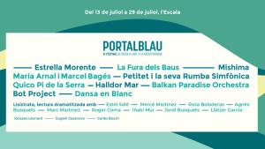Arranca la programació del Portalblau 2018