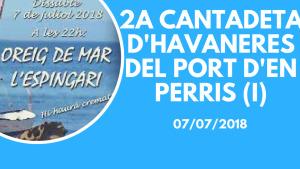 2a Cantadeta Cantadeta d'Havaneres (I)