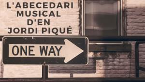 L'abecedari musical d'en Jordi Piqué