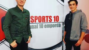 El porter Eduard Pons podria estar vuit mesos sense jugar a futbol