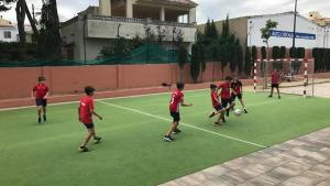 4x4 de futbol a l'Espai Jove