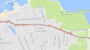 Canvis de circulació a l'avinguda Montgó per les obres de millora