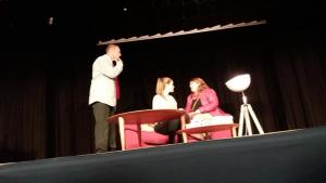 Bona acollida de l'obra Fuita, de La Mosca teatre de Girona