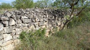 L'Ajuntament denuncia l'espoli de parets de pedra seca