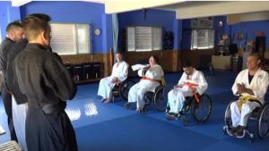 Els alumnes de jujitsu adaptat han estat convidats en un torneig que es farà a Donosti