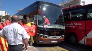 Autocar ANC a la manifestació del 26-O