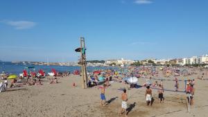 L'Ajuntament instal·la xarxes protectores a les platges