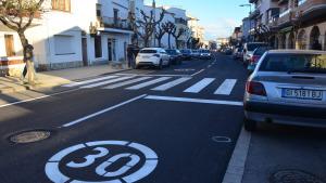 Millores d'accessibilitat a l'avinguda Girona