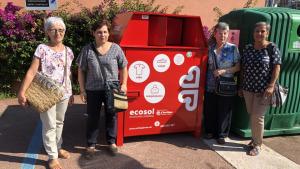 Conveni amb Càritas per instal·lar 9 contenidors de roba usada